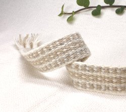 handfasting cord in neutrals