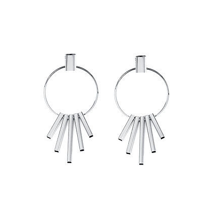 Elegant Five Bar Drop Earrings