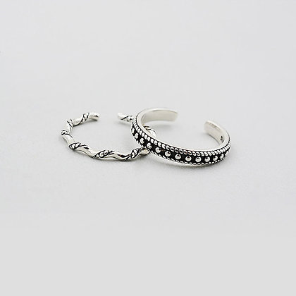 Sterling Silver Vintage Stack-able Ring