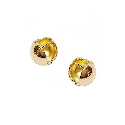 Pinball Gold Hoops