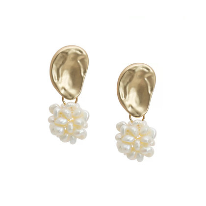 Pearl Drop Earring- S925 Post
