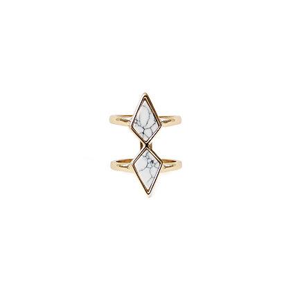 Diamond Marble Ring