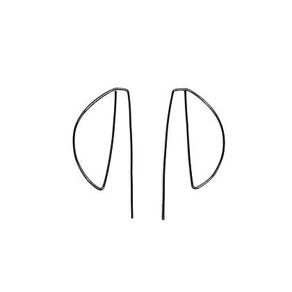 Simplist Semi-Circle Earrings