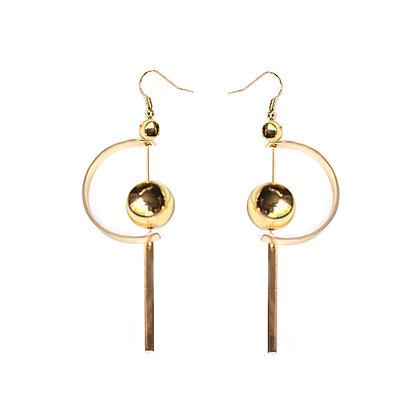 Large Half Moon Earrings