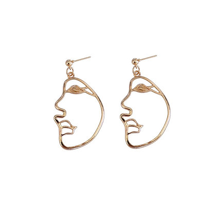 Half Face Earrings