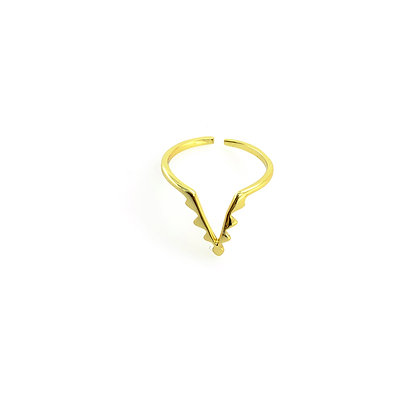 S925 Stacker Adjustable Ring