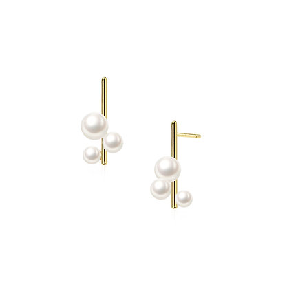 S925  Pearl Stud Earrings