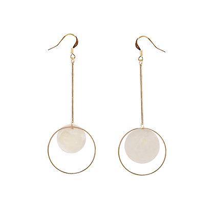 Shell Pendulum Earrings