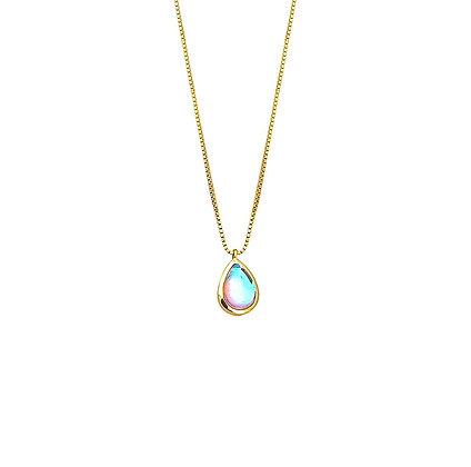 S925 Glass Drop Necklace