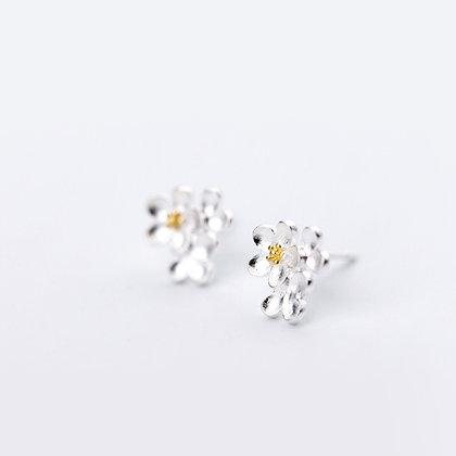 S925 Gorgeous Blossom Earrings