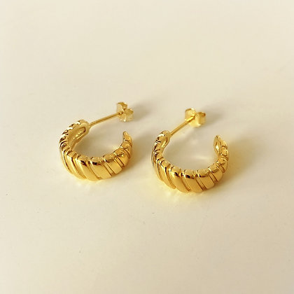 S925 Exclusives Gold  Hopp Earrings