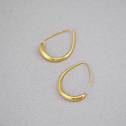 18k Gold Filled Drop Earrings