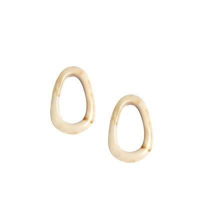 Oval Studs Earring