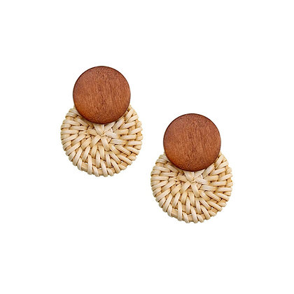 Circle Knit Earrings