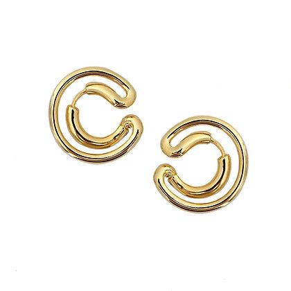 C Shape Earrings