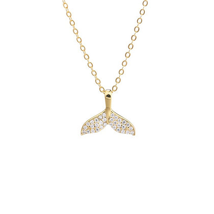 S925 Mermaid Tail Necklace