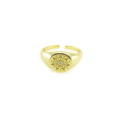 Iris Adjustable Ring