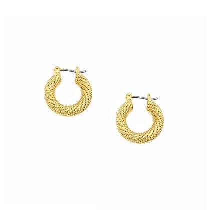 Mesh 20mm Hoop Earring