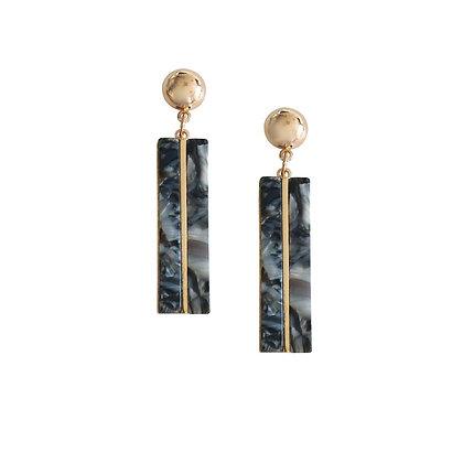 Elegant Resin Stud Earrings