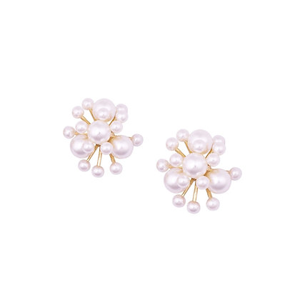 Firework Pearl Earring -S925 Post