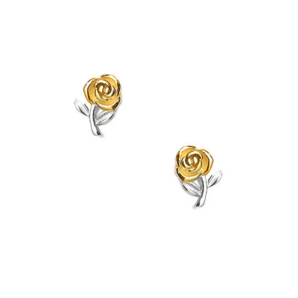 S925 Rose Studs