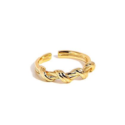 S925 Twist Ring