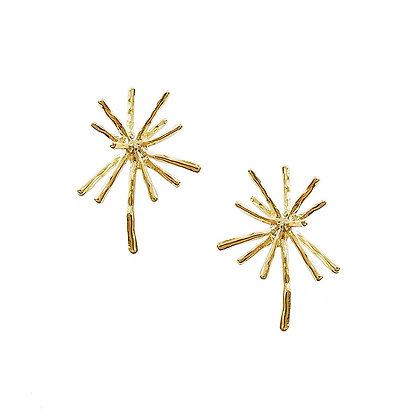 Firework Stud Earrings -S925 Post