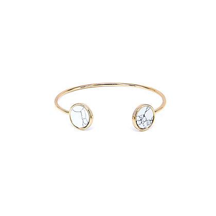 Duo Circle Marble Bracelet