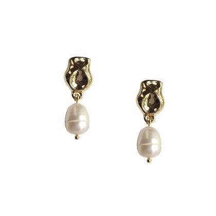Mini Pearl Stud Earrings
