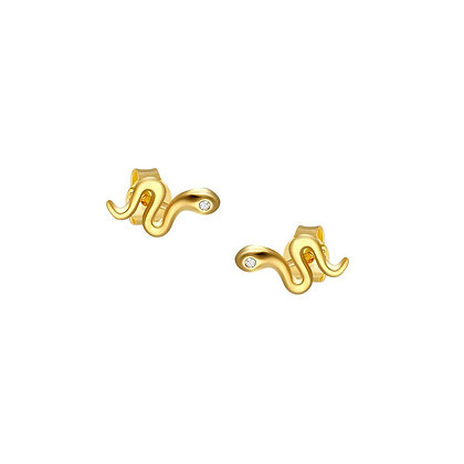 S925  Mini Snake Stud Earrings