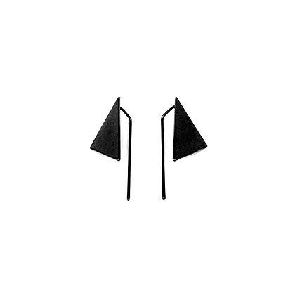 Triangle Pin Earrings