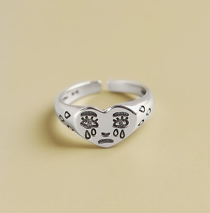 S925 Miss U- Adjustable Ring