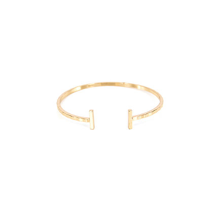 Duo Bar Bracelet in Gold and Silver