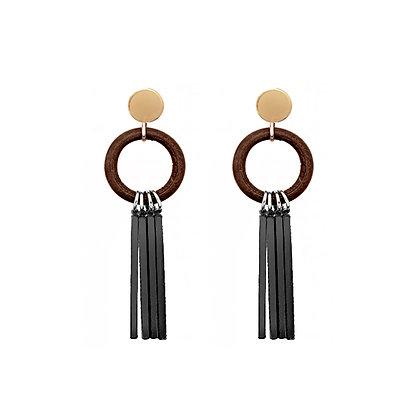 Four Bars Earrings