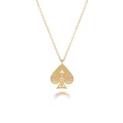 S925 Spade Necklace