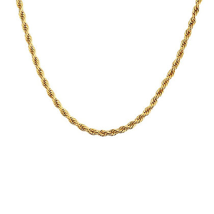 Woven Chain In Gold