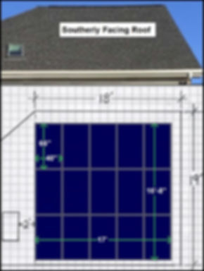 Solar Panel Layout example
