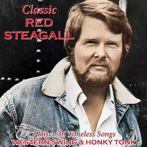 Classic Red Steagall 2 Disc Set