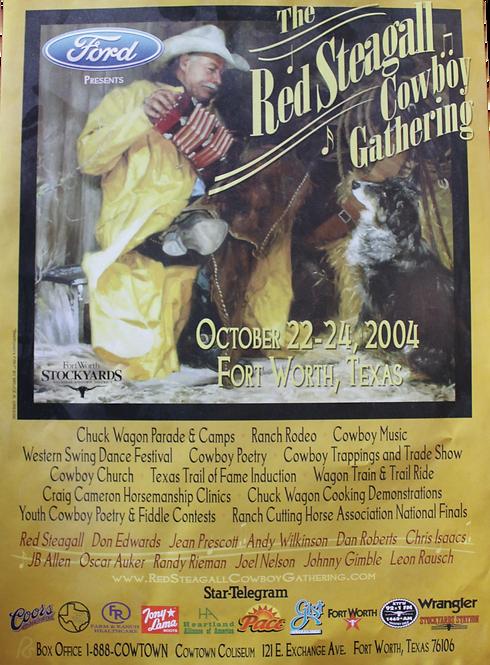 2004 Cowboy Gathering Poster