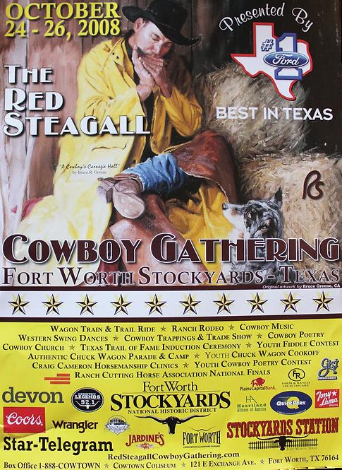 2008 Cowboy Gathering Poster