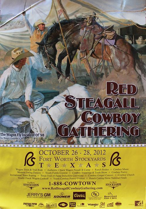 2012 Cowboy Gathering Poster
