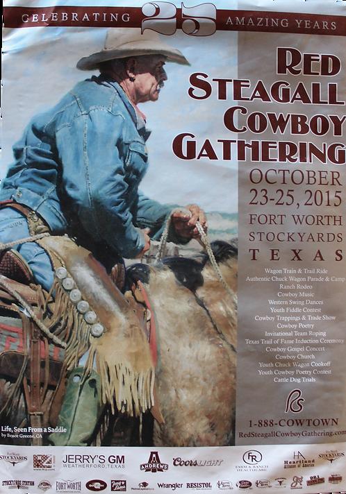 2015 Cowboy Gathering Poster