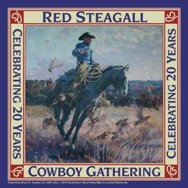 RS Cowboy Gathering Silk Wild Rag/Scarf
