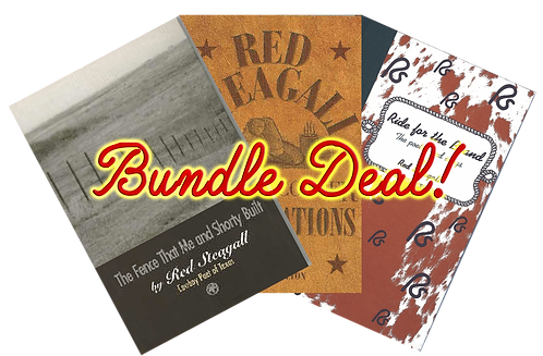 Red Steagall Trio Book Collection