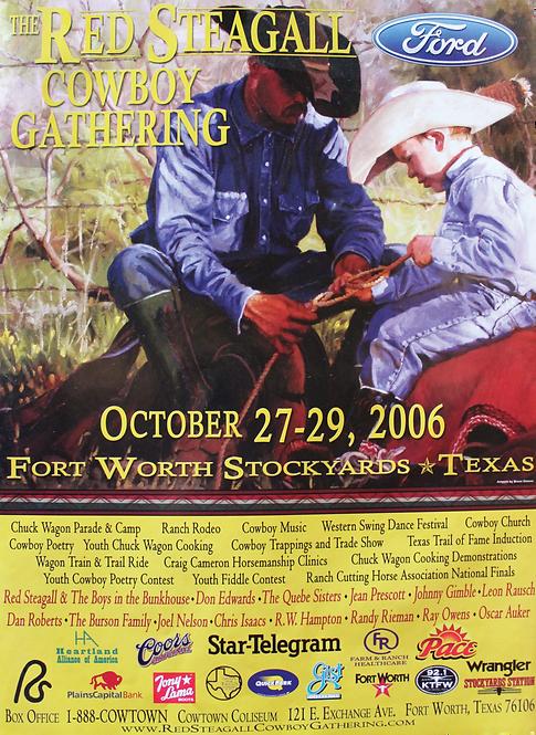 2006 Cowboy Gathering Poster