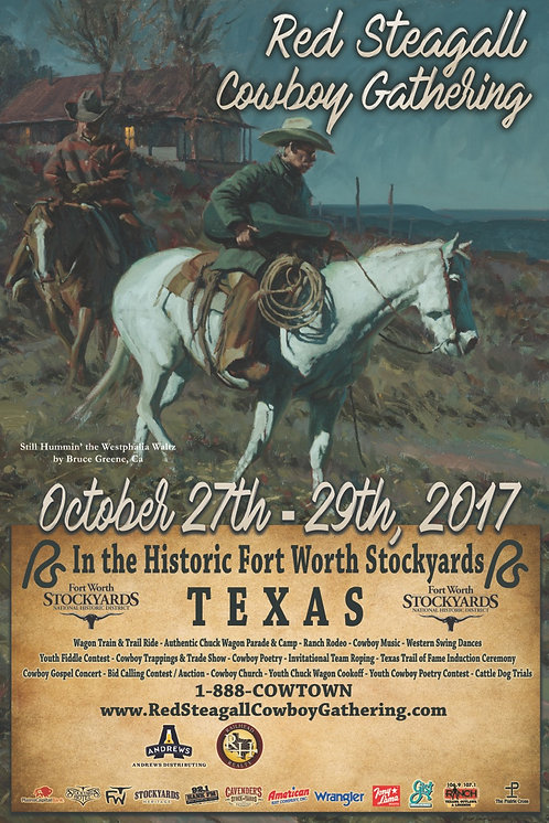 2017 RS Cowboy Gathering Poster