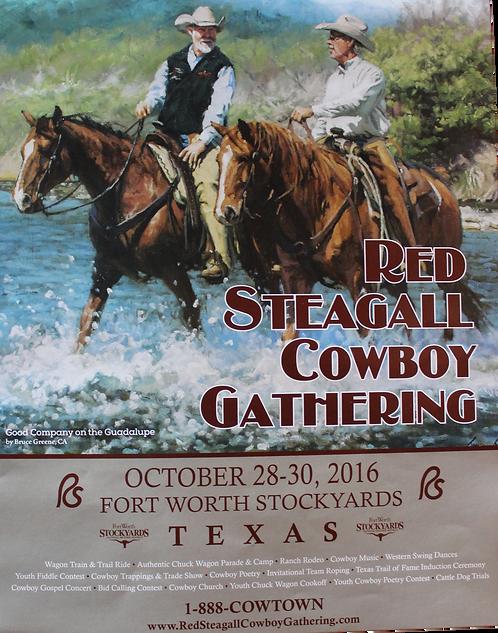 2016 Cowboy Gathering Poster