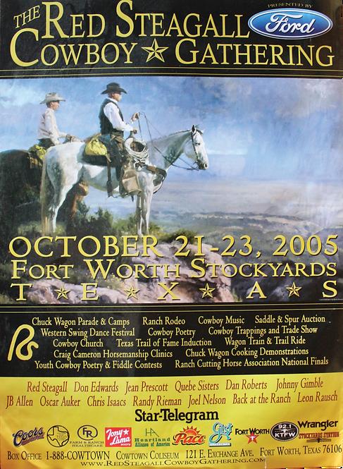 2005 Cowboy Gathering Poster