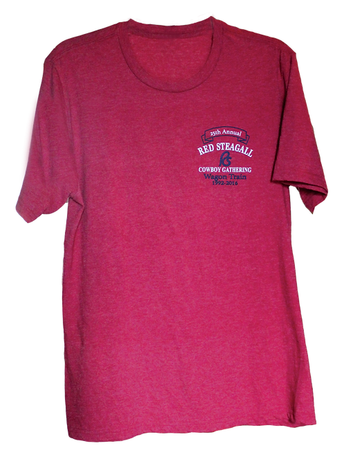 25th Annual Wagon Train T-Shirt