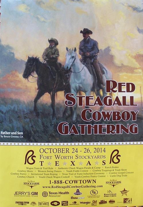 2014 Cowboy Gathering Poster